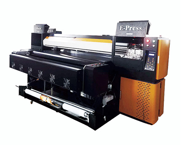 E-Press high speed sublimation textil